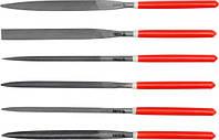 Yato набор надфилей 6шт. 5x180x85 мм 6162