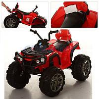 Детский квадроцикл на аккумуляторе M 0906 красный***