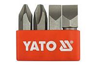 Yato Набор головок и бит4шт. ph/плоские 2812
