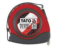 Yato рулетка 3м с магнитом 7103