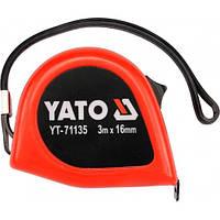 Yato измерительная лента 3 м x 16 мм 71135