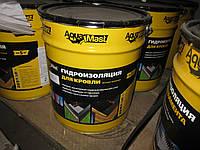 Мастика битумная для ремонта кровли AquaMast; 10 кг
