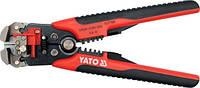 Yato клещи для удаления изоляции 210 мм 0,5-6,0 мм многофункциональные 2278