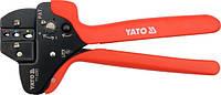 Yato клещи для обжима коннекторов 230 мм, 0,5-6 мм2