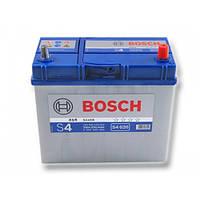 """Аккумулятор Bosch S4 Silver (низкий) 60Ah, EN 540 правый """"+"""""""