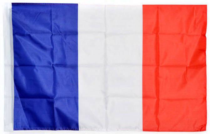 Национальный флаг Франции 60х90 см , фото 2