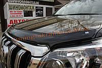 Дефлектор капота (мухобойка) EGR на Hyundai i30 2007-11 хэтчбек с лого, фото 1