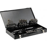Yato Метчики + плашки, набор из 44 элем. m3-m12 2978