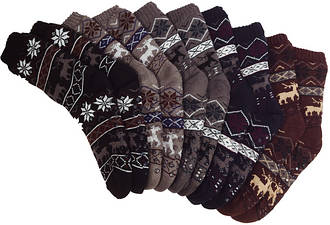 Носки тапочки мужские EMI ROSS (Ромб)
