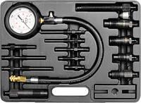 Yato измеритель давления сжатия дизеля, комплект 16 элем. 7307