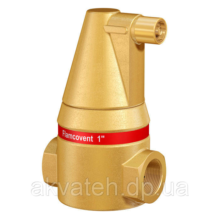 "Сепаратор воздуха системы отопления  Flamcovent 1""  (Голландия) - Акватех, ФЛП  Питлюк  Р. Я. в Днепре"