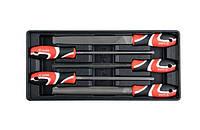 Yato надфили, комплект, 5 элем. 55453