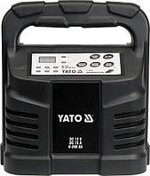 Yato зарядное устройство электронное 12 В 15a 6-200ah мокрый/гелевый/agm 8303