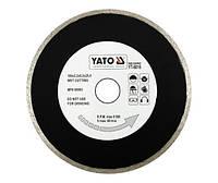Yato Отрезной алмазный диск полный 200 х 25,4 мм 6017