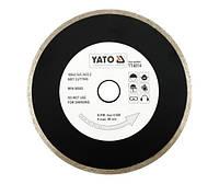 Yato Отрезной алмазный диск полный 230 х 22,2 мм 6015