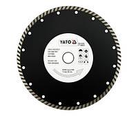 Yato Отрезной алмазный диск turbo 230 х 22,2 мм 6025