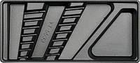 Yato вкладыш для выдвижного ящика для ключей изогнутые 6-19мм (7шт.) 55331