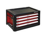 Yato шкаф переносной 4-ящик 09152
