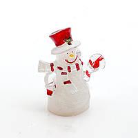"""Новогодний LED светильник """"Снеговик"""""""