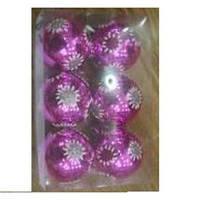 Набор ёлочных шаров 8201