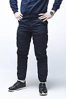 Зимние мужские карго штаны Thor темносиние