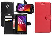 Чехол-бумажник для Asus Zenfone Go zc500tg