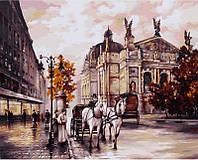 Картина по номерам 40×50 см. Львов Оперный театр, фото 1