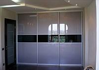 Шкаф — купе встроенный со стеклом лакобель киев