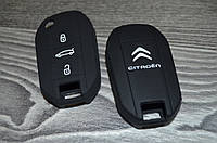 Силиконовый чехол на ключ Citroen