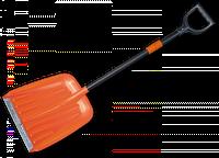 Лопата для уборки снега телескопическая Bradas