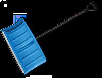Лопата-плуг для уборки снега с алюминиевым профилем Bradas