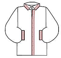 Сорочка чоловіча заготовка для вишивки бісером, нитками