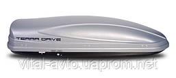 Аэробокс Terra Drive 480 л односторонний серый