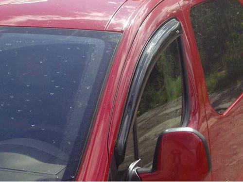"""Дефлектори дверей (вітровики) Fiat Doblo 2d 2000 деф.вікон """"CT"""""""