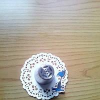 Насадка кондитерская Тюльпан бархатный закрытый (трехконечный пестик)