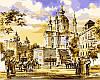 Картины по номерам 40×50 см. Андреевская церковь Художник Сергей Брандт