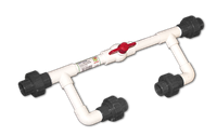 """Байпас для инжектора Вентури 1/2"""" с резьбовым соединением 1/2"""" Bradas"""