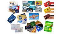 Прозрачные пластиковые визитки