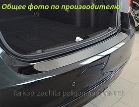 Накладка на задний бампер Fiat Linea FL с 2012 г.