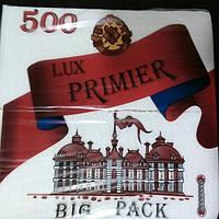 """Салфетки """"Премьер"""" Big Pack 10 уп. по 500 шт., фото 1"""