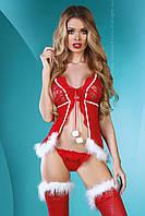 Сексуальный новогодний костюм Christmas Lady от Livia Corsetti (Польша) Быстрая отправка, отличное качество!