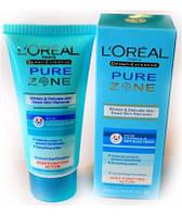 Крем - пилинг L'oreal Pure Zone (Лореаль Пьюр Зон) для удаления омертвевших клеток кожи