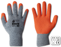 Перчатки рабочие HUZAR CLASSIC PLUS латекс, размер 9 Bradas
