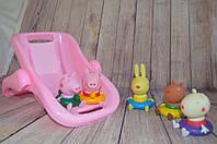 Свинка Пеппа и её друзья резиновые в ванной (Peppa Pig)