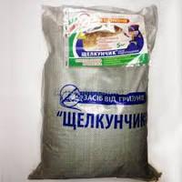 Родентицид Щелкунчик, отрава от крыс и мышей, Бродифакум, зерновая приманка со вкусом арахиса. Мешок 10 кг.