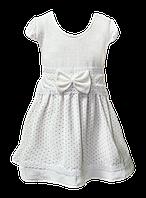 Платье велюровое детское