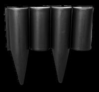 Палисад PALGARDEN черный - 2,5 м Bradas