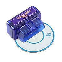 Адаптер для диагностики авто OBD2 ELM327 mini Bluetooth, диагностический автосканер