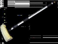 Щетка автомобильная, телескопическая ручка 250см, з краном, 4 уровня густоты щетины Bradas