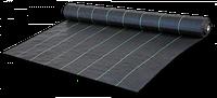 Агроткань против сорняков PP, черная UV, 70 гр/м² размер 0,6 х 100м Bradas